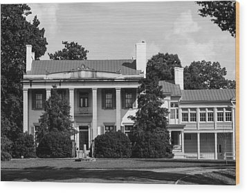 Wood Print featuring the photograph Belle Meade Mansion by Robert Hebert