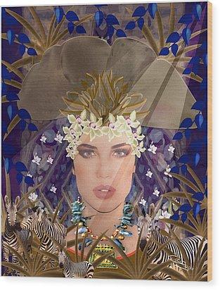 Belleza Terrosa  Wood Print