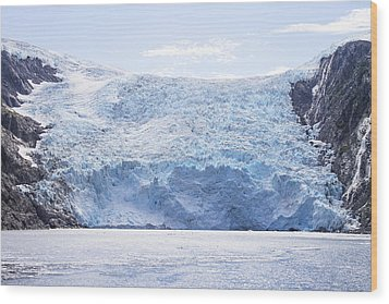 Beloit Glacier Wood Print by Saya Studios