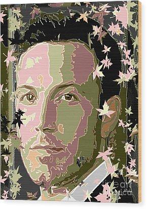 Ben Affleck Wood Print by Dalon Ryan