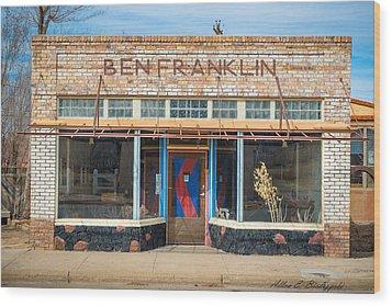 Wood Print featuring the photograph Ben Fraklin by Allen Biedrzycki