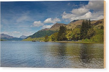 Wood Print featuring the photograph Ben Lomond by Stephen Taylor