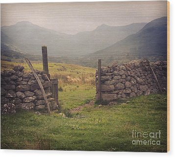 Wood Print featuring the photograph Ben Nevis Mountian Range by Roy  McPeak