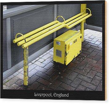 Bench #21 Wood Print by Roberto Alamino