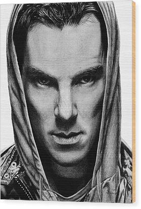 Benedict Cumberbatch Wood Print by Kayleigh Semeniuk