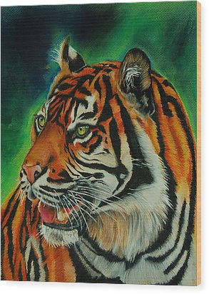 Bengal Wood Print by Jean Cormier