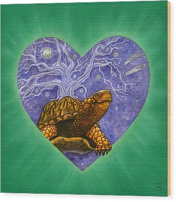 Benjamin Wood Print by Lisa Kretchman