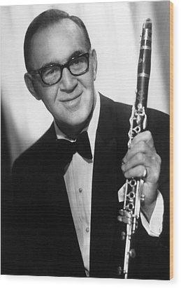 Benny Goodman (1909-1986) Wood Print by Granger