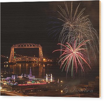 Wood Print featuring the photograph Bentleyville 2012 by Gregory Israelson