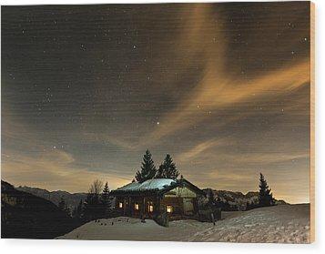 Berchtesgadener Land Wood Print by Deryk Baumgaertner