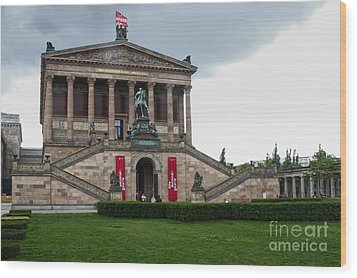 Berlin - National Gallery Wood Print by Gregory Dyer