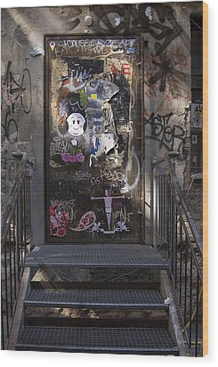 Berlin Graffiti - 2  Wood Print by RicardMN Photography