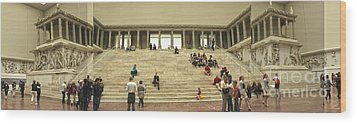 Berlin - Pergamon Museum - No.03 Wood Print by Gregory Dyer