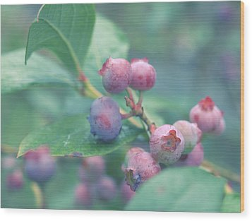 Berries For You Wood Print