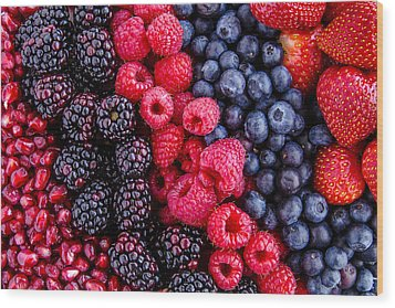 Berry Delicious Wood Print