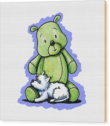 Best Buddies Come In All Sizes Wood Print
