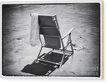 Best Seat Wood Print by John Rizzuto