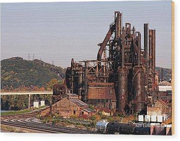 Bethlehem Steel # 8 Wood Print
