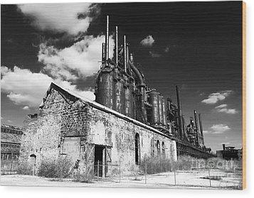 Bethlehem Steel Wood Print