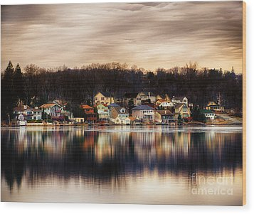 Betrand Island Wood Print by Mark Miller