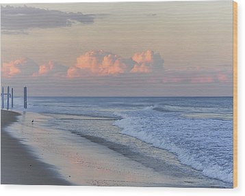 Better Days Ahead Seaside Heights Nj Wood Print