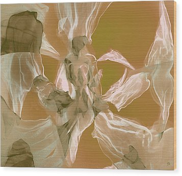 Between Heaven And Earth Wood Print by Irma BACKELANT GALLERIES