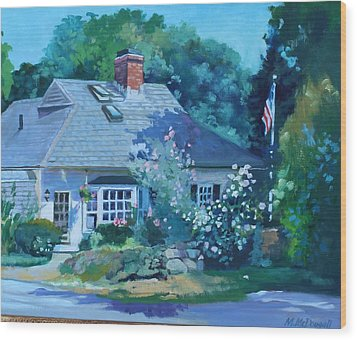Beverly Cove Wood Print by Michael McDougall