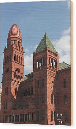 Bexar County Courthouse Wood Print