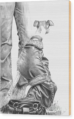 Beyond Wood Print by Sheona Hamilton-Grant