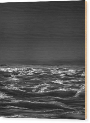 Beyond The Sea Wood Print by Bob Orsillo
