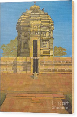 Bhaskareshwar- Shiva Temple Wood Print
