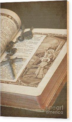 Biblical Wood Print by Sophie Vigneault