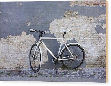 Bicycle Copenhagen Denmark Wood Print