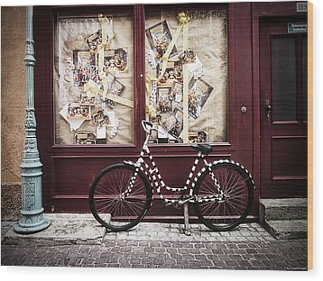 Bicycle Wood Print by Ryan Wyckoff