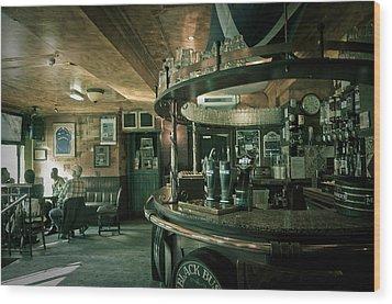 Biddy Mulligans Pub. Edinburgh. Scotland Wood Print by Jenny Rainbow