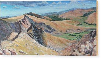 Bierstadt Saddle Wood Print