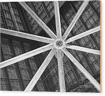 Big Ass Fan Wood Print by Jim Rossol