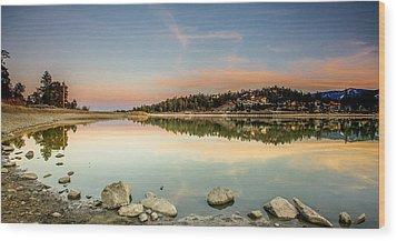 Wood Print featuring the photograph Big Bear Lake by Robert  Aycock