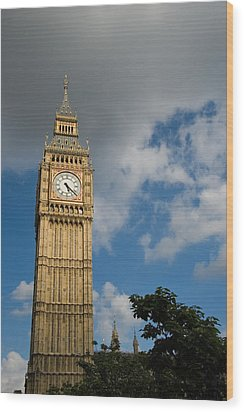 Wood Print featuring the photograph Big Ben by Jeremy Voisey