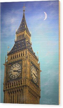Big Ben Wood Print by Joyce Dickens