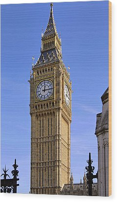 Wood Print featuring the photograph Big Ben by Stephen Anderson