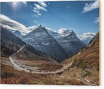 Wood Print featuring the photograph Big Bend by Aaron Aldrich