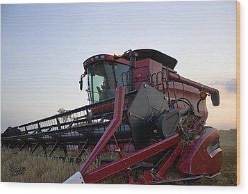 Big Harvest Wood Print
