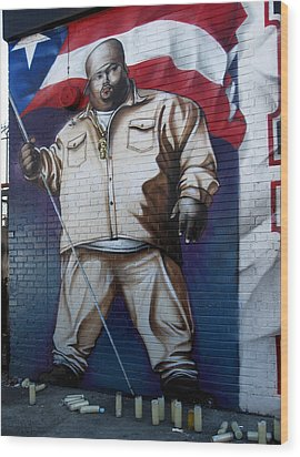 Big Pun Wood Print by RicardMN Photography