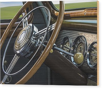 Big As A Buick Wood Print