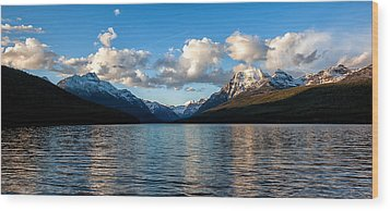 Wood Print featuring the photograph Big Sky by Aaron Aldrich