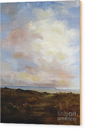 Big Sky Country Wood Print by Lee Piper