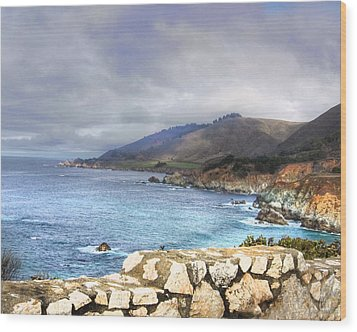 Wood Print featuring the photograph Big Sur by Kandy Hurley