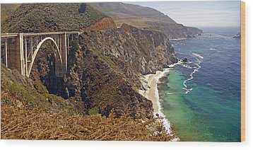 Wood Print featuring the photograph Big Sur by Rod Jones