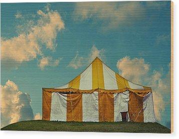 Big Top Wood Print by Laura Fasulo